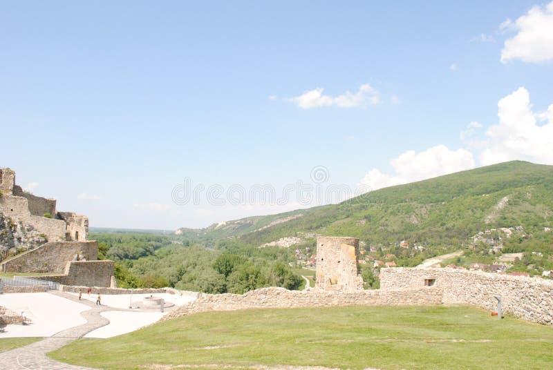 Castillo de Devin imágenes de archivo libres de regalías