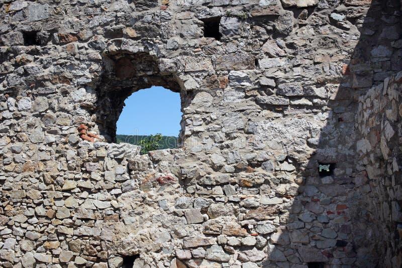 Castillo de Devin fotos de archivo