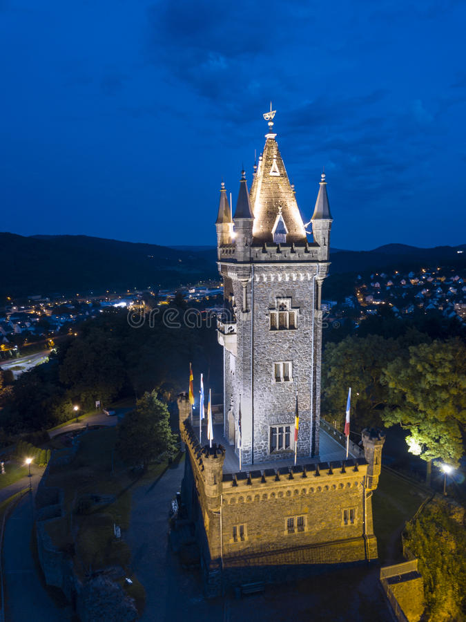 Castillo de Dillenburg, Alemania imágenes de archivo libres de regalías