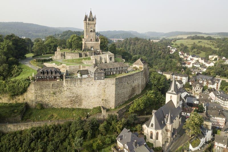 Castillo de Dillenburg, Alemania fotos de archivo