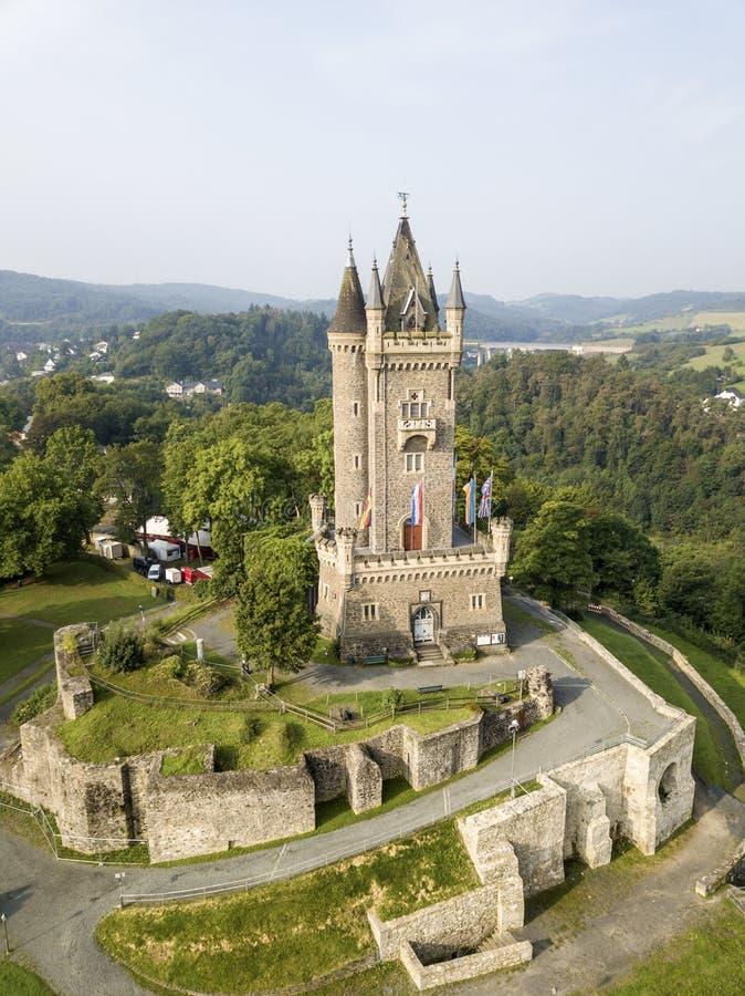 Castillo de Dillenburg, Alemania fotografía de archivo