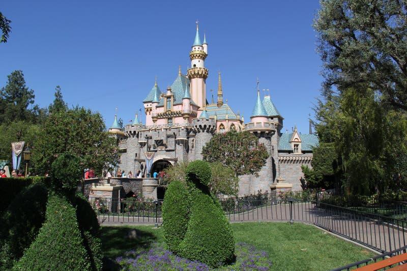 Castillo de Disneyland fotografía de archivo libre de regalías
