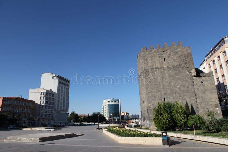 Castillo de Diyarbakir fotos de archivo