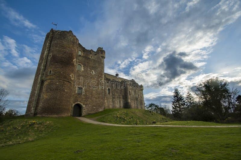 Castillo de Doune fotografía de archivo