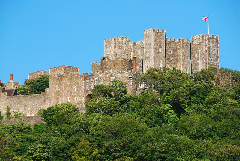 Castillo de Dover fotos de archivo libres de regalías