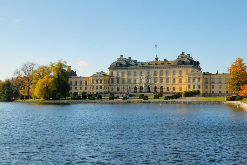 Castillo de Drottningholm imágenes de archivo libres de regalías