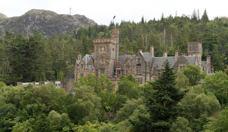 Castillo de Duncraig fotos de archivo