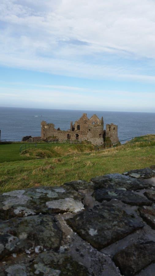 Castillo de Dunluce fotografía de archivo libre de regalías