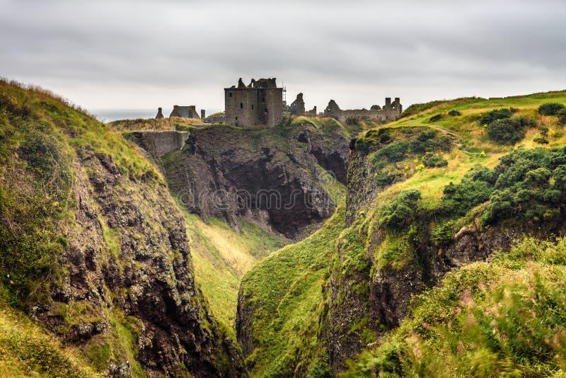Castillo de Dunnottar, Escocia fotos de archivo