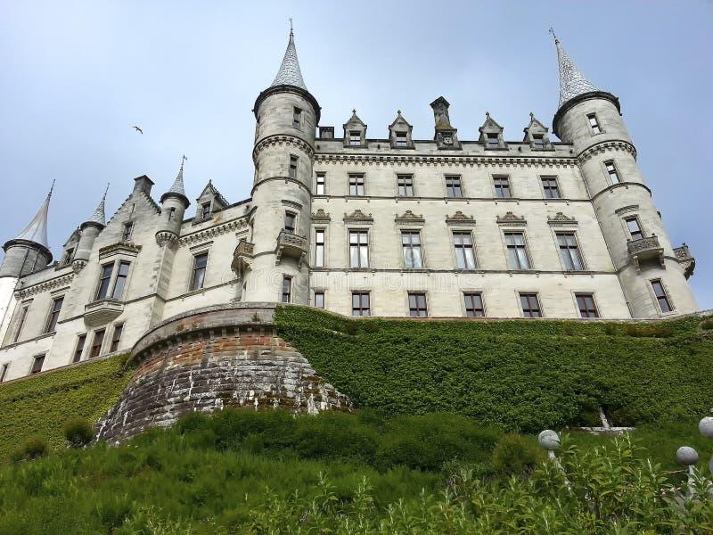 Castillo de Dunrobin fotografía de archivo libre de regalías