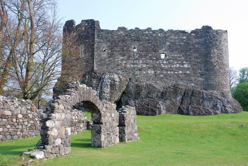 Castillo de Dunstaffnage imagen de archivo
