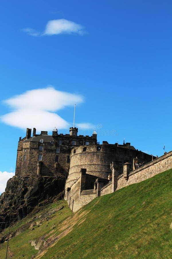 Castillo de Edimburgo, Castle Rock, Edimburgo, Escocia imagenes de archivo