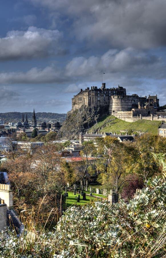Castillo de Edimburgo, Escocia foto de archivo