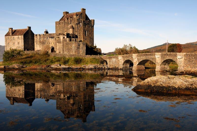Castillo de Eilean Donan, Escocia. imagen de archivo