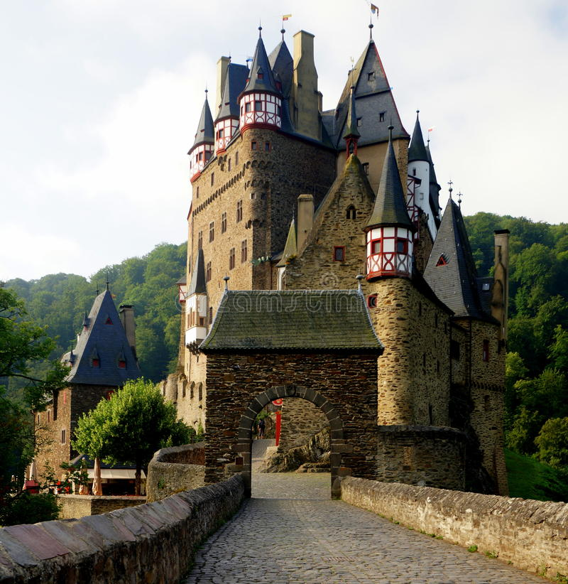 Castillo de Eltz fotos de archivo libres de regalías