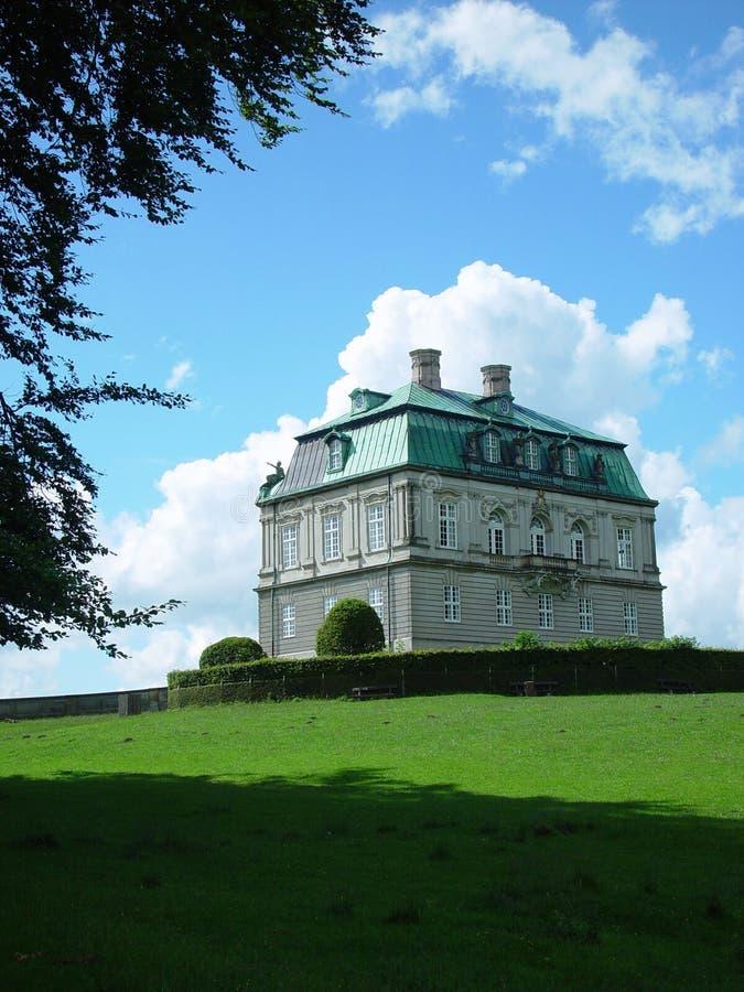 Castillo de Eremitage imagen de archivo libre de regalías