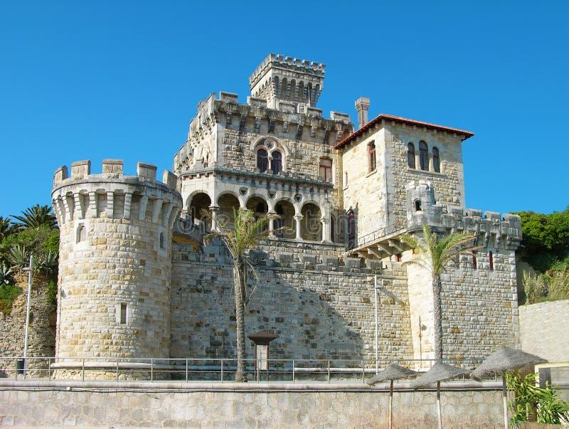 Castillo de Estoril, Portugal imagenes de archivo