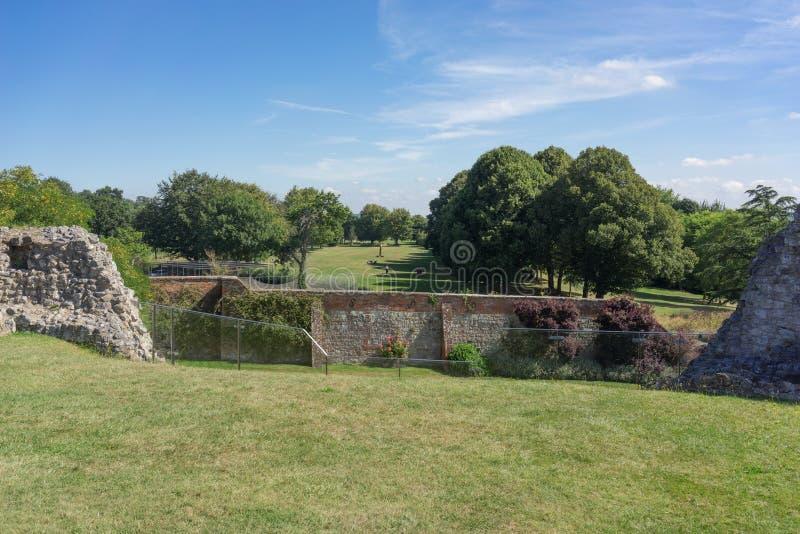 Castillo de Farnham en Surrey imagen de archivo libre de regalías