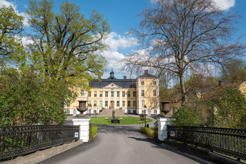 Castillo de FinspÃ¥ng, Suecia fotografía de archivo libre de regalías