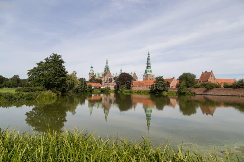 Castillo de Frederiksborg, Dinamarca imágenes de archivo libres de regalías