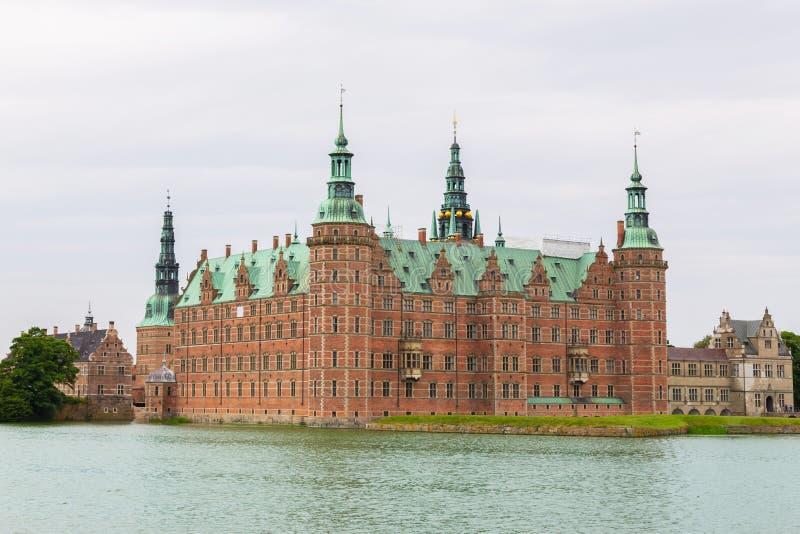 Castillo de Frederiksborg, Hilleroed, Dinamarca imágenes de archivo libres de regalías