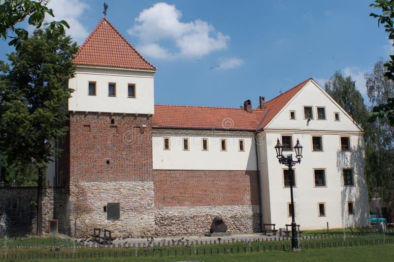 Castillo de Gliwice imágenes de archivo libres de regalías