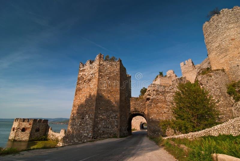 Castillo de Golubac imagenes de archivo