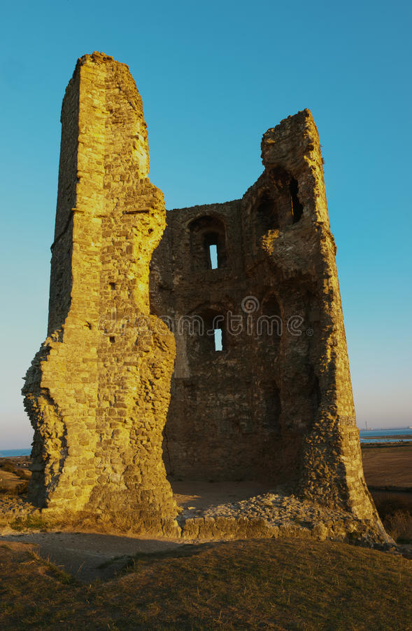 Castillo de Hadleigh fotos de archivo libres de regalías