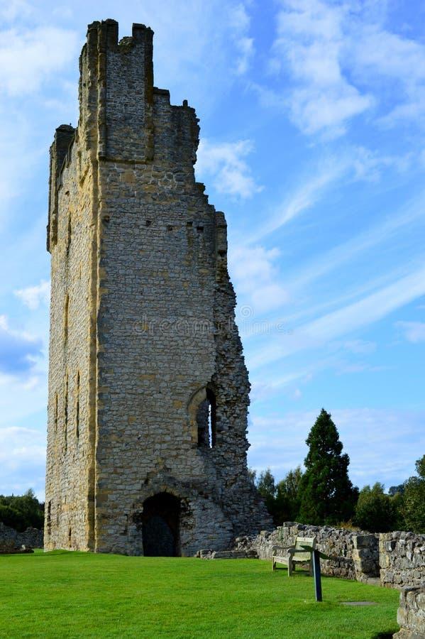 Castillo de Helmsley fotografía de archivo