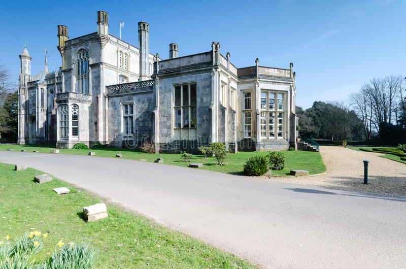 Castillo de Highcliffe fotografía de archivo