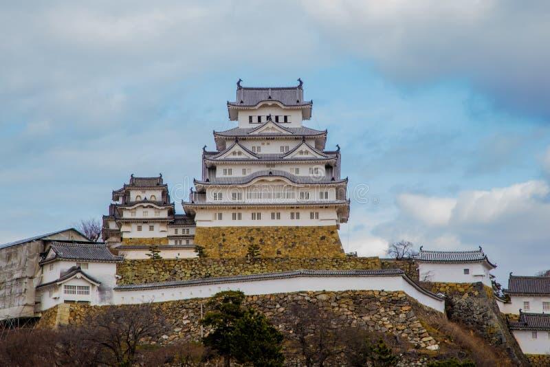 Castillo 1 de Himeji fotografía de archivo libre de regalías