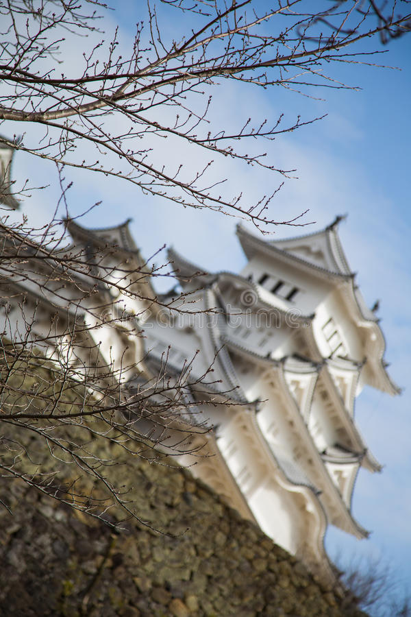 Castillo 4 de Himeji imagenes de archivo