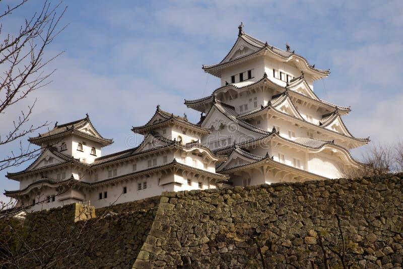Castillo 2 de Himeji imagen de archivo libre de regalías
