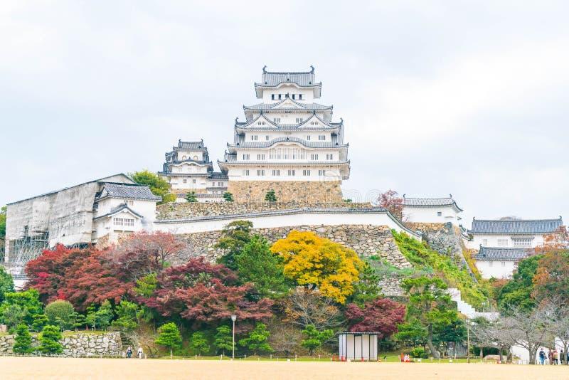 Castillo de Himeji en la prefectura de Hyogo, Japón, patrimonio mundial de la UNESCO imágenes de archivo libres de regalías