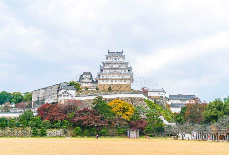 Castillo de Himeji en la prefectura de Hyogo, Japón, patrimonio mundial de la UNESCO fotografía de archivo libre de regalías