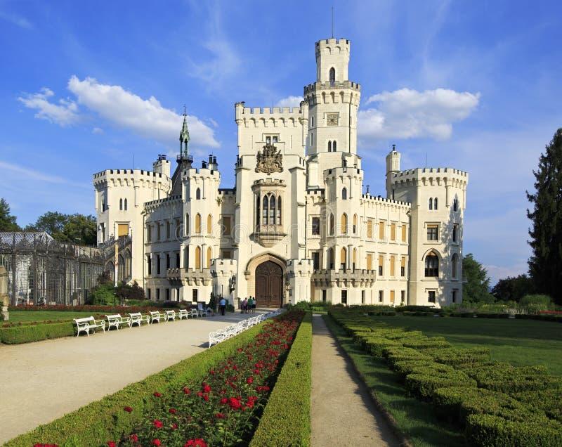 Download Castillo De Hluboka En República Checa Foto de archivo - Imagen de república, verano: 41918002