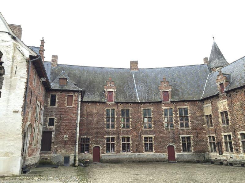 Castillo de Horst, Bélgica imagen de archivo