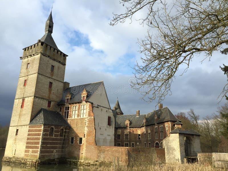 Castillo de Horst, Bélgica fotografía de archivo