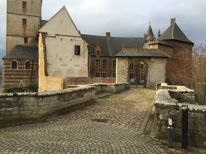 Castillo de Horst, Bélgica imágenes de archivo libres de regalías