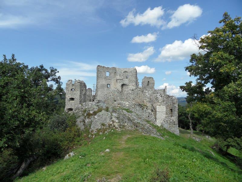 Castillo de Hrusov fotografía de archivo