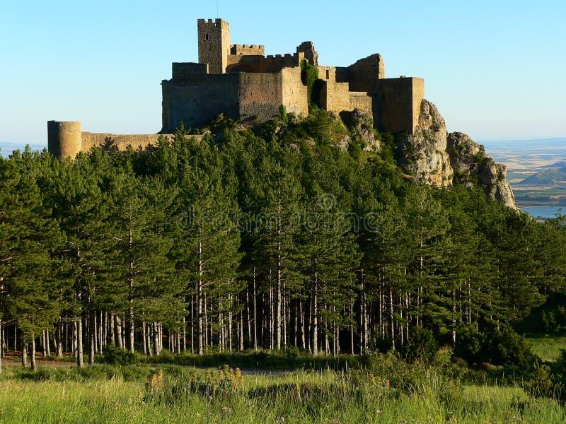 castillo de huesca loarre Ισπανία στοκ φωτογραφίες με δικαίωμα ελεύθερης χρήσης
