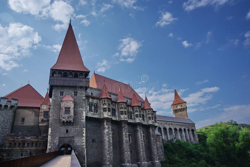 Castillo de Huniazilor fotografía de archivo libre de regalías