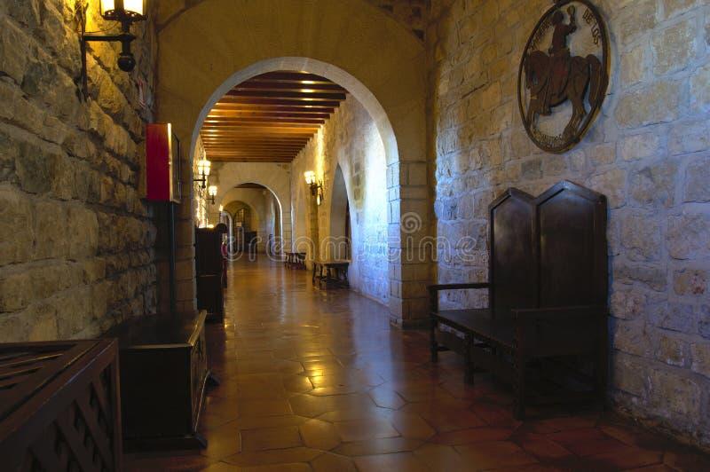 Castillo de Jaén fotos de archivo