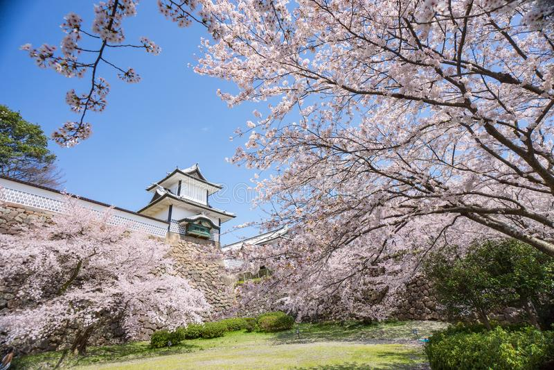 Castillo de Japón Kanazawa foto de archivo libre de regalías