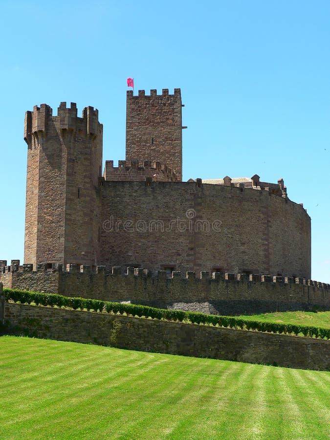 Castillo DE Javier, Navarra (Spanje) royalty-vrije stock foto