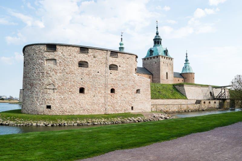 Castillo de Kalmar foto de archivo libre de regalías