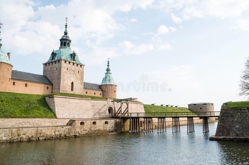 Castillo de Kalmar imágenes de archivo libres de regalías