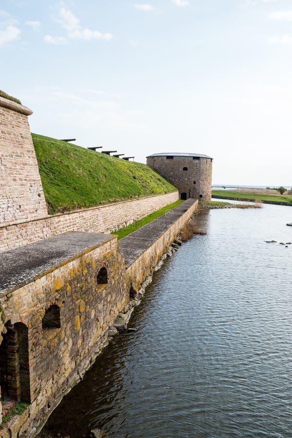 Castillo de Kalmar imagen de archivo libre de regalías