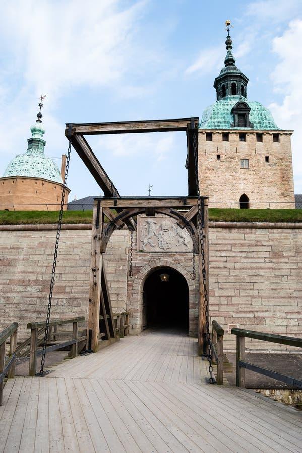 Castillo de Kalmar imagen de archivo