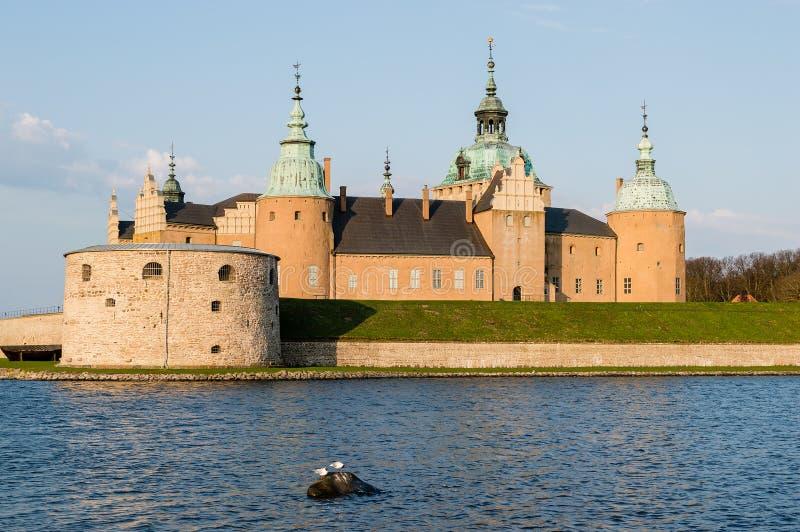 Castillo de Kalmar foto de archivo